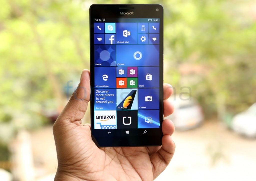 Microsoft Windows 10 Mobile to get fingerprint support this summer
