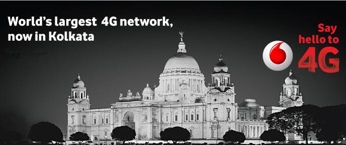 Vodafone 4G Kolkata