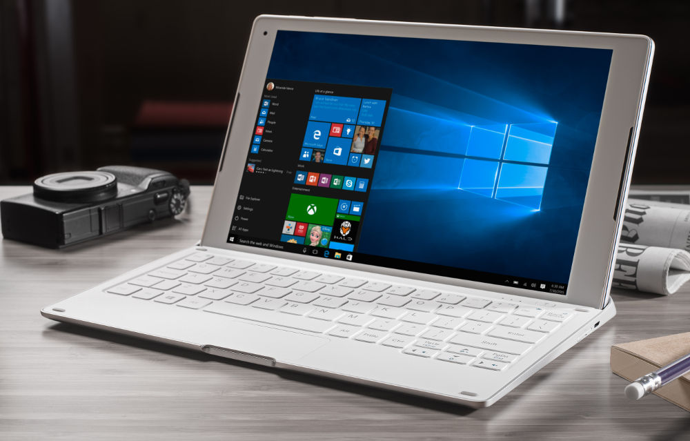 alcatel plus 10 2 in 1 with windows 10 4g lte keyboard announced. Black Bedroom Furniture Sets. Home Design Ideas