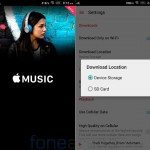 Apple Music 0.9.5 Download Music to SD
