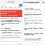 Google Public Alerts flood alerts