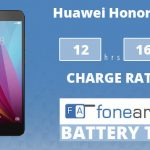 Huawei Honor 5X FA One Charge Rating