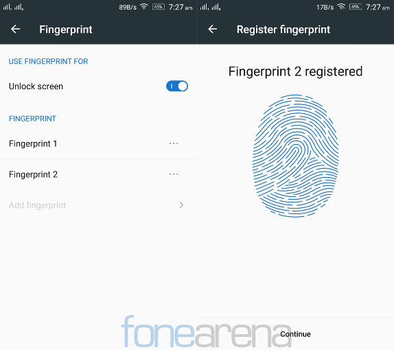 Lenovo Vibe X3 Fingerprint