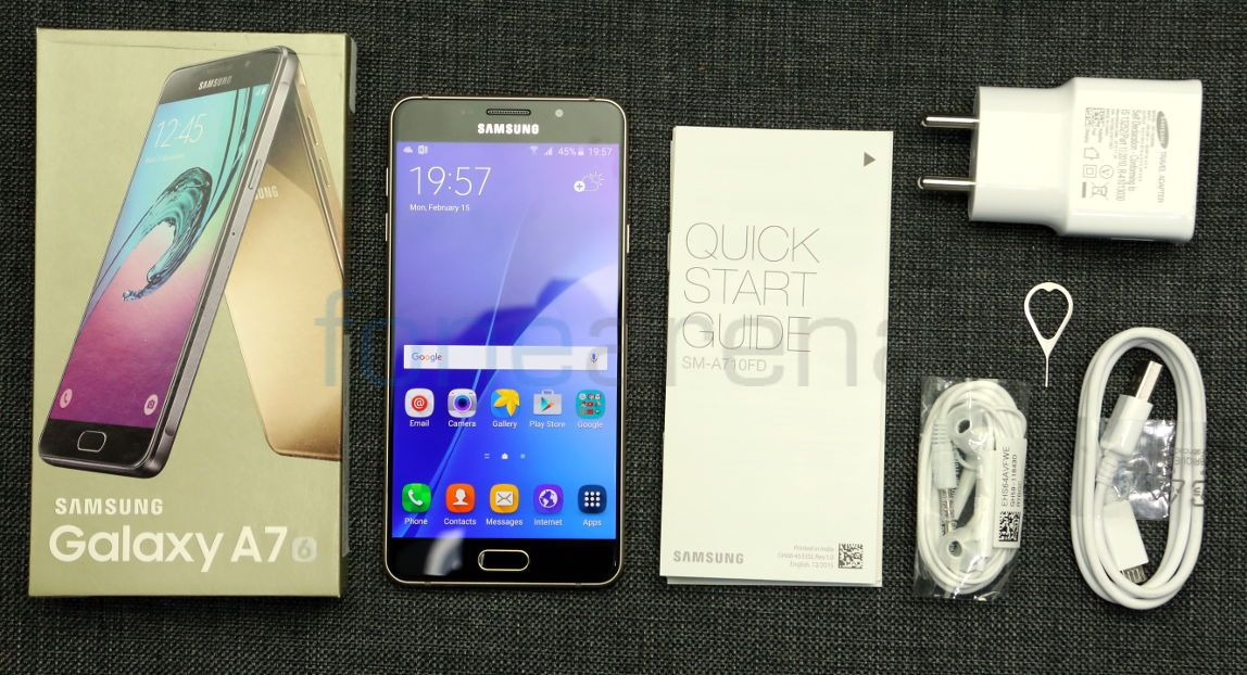 samsung galaxy a7 2016 unboxing