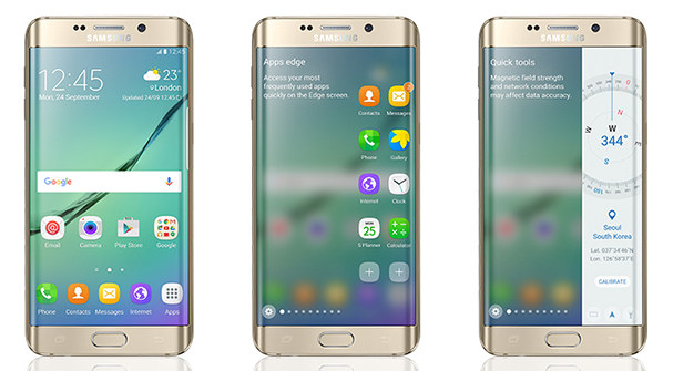 Samsung Galaxy S6 edge Android 6.0 Marshmallow