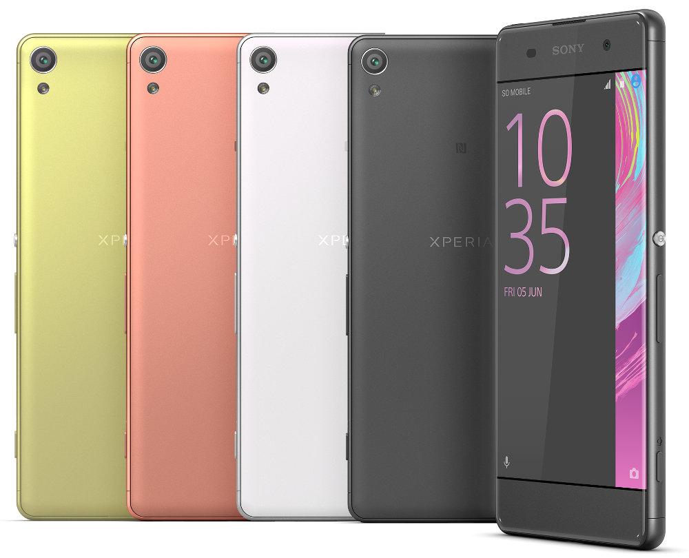 Sony Xperia XA Colours