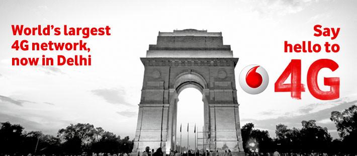Vodafone 4G Delhi