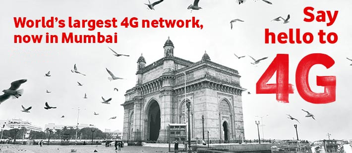 Vodafone 4G Mumbai