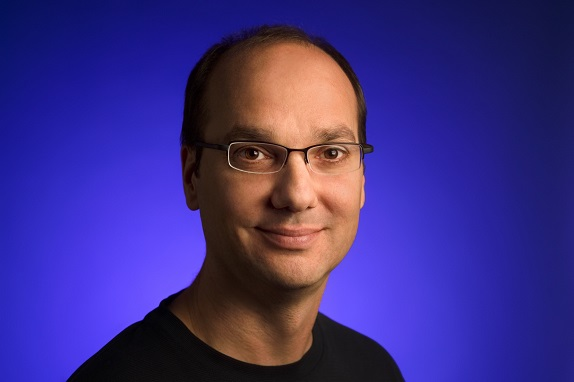 Andy Rubin reportedly working on high-end smartphone with bezel-less display