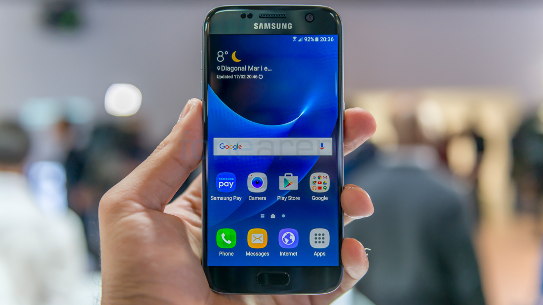 how to move the samsung edge app around the screen