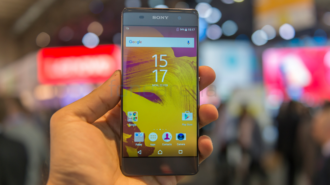 Sony Xperia XA Hands On and Photo Gallery