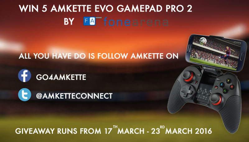 Amkette Evo Gamepad Pro 2 Giveaway Winner Announcement