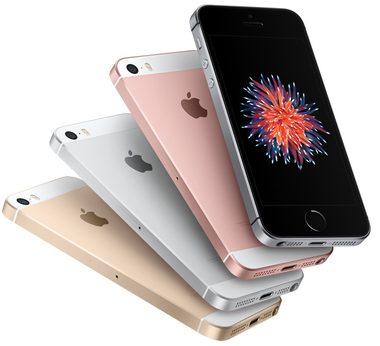 Apple Iphone Se  Go  Or Rose