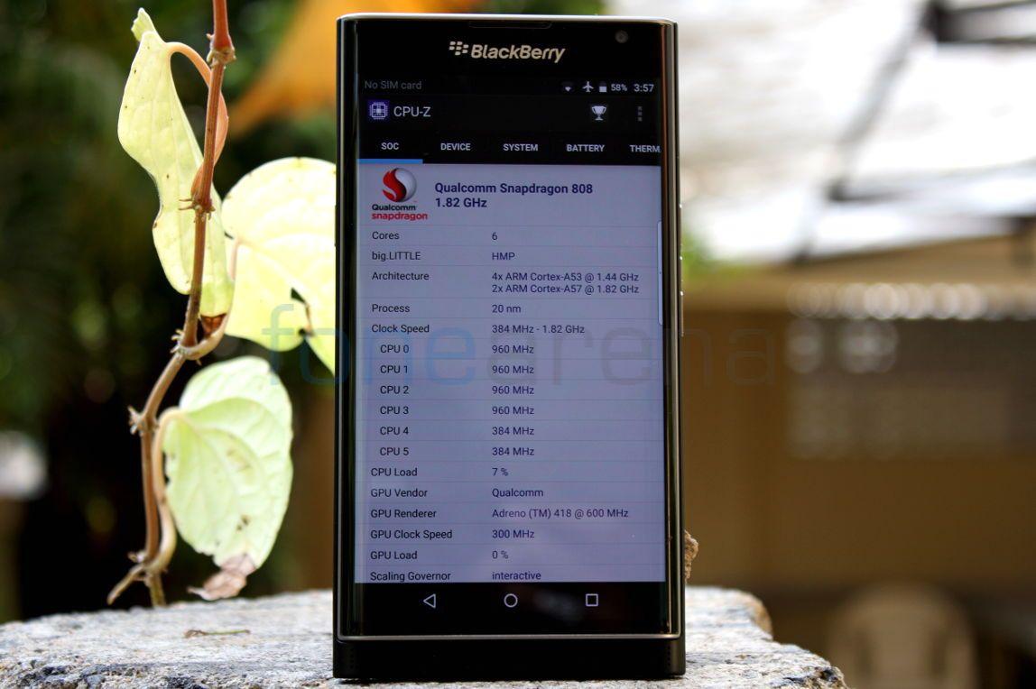 BlackBerry Priv Benchmarks