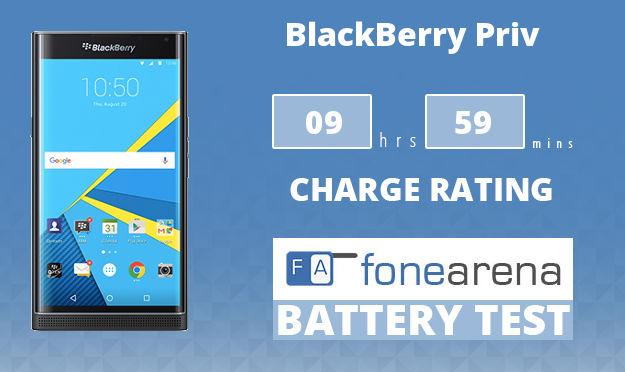 BlackBerry Priv Battery Life Test