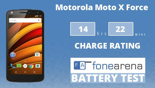 Motorola Moto X Force Battery Life Test
