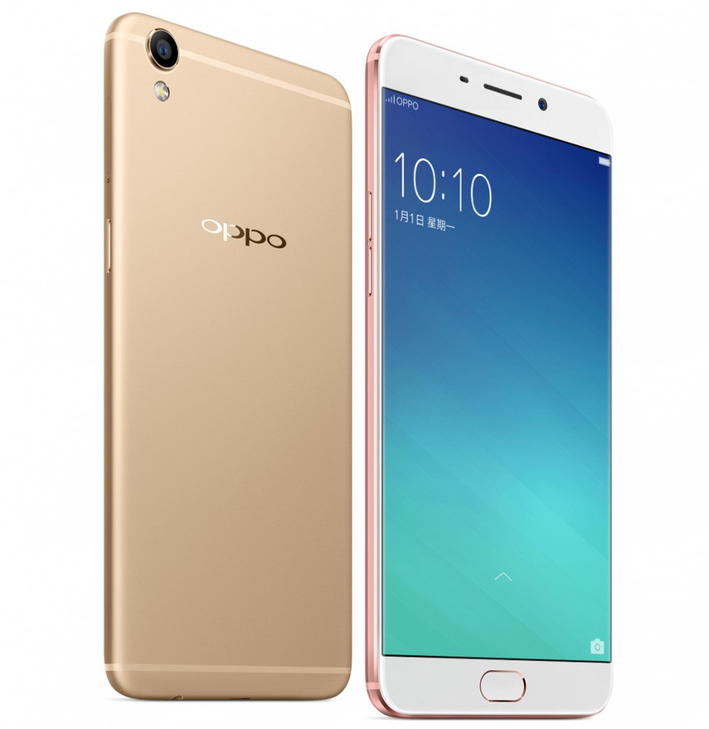 oppo r9 and r9 plus with 5 5 inch and 6 inch 1080p