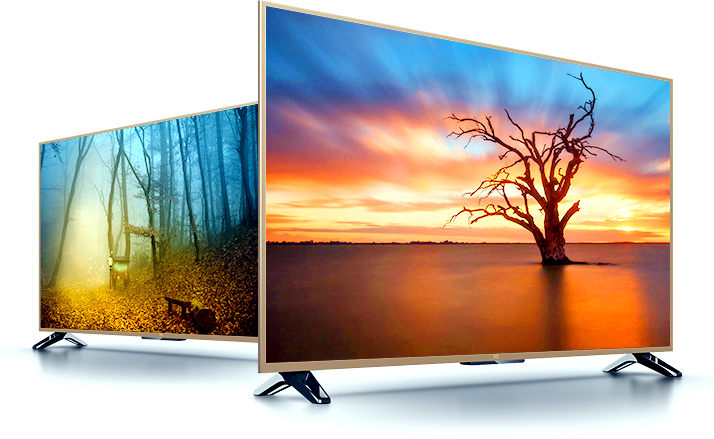Xiaomi Mi Tv 3s 65 Inch Curved 4k Tv And 43 Inch Full Hd