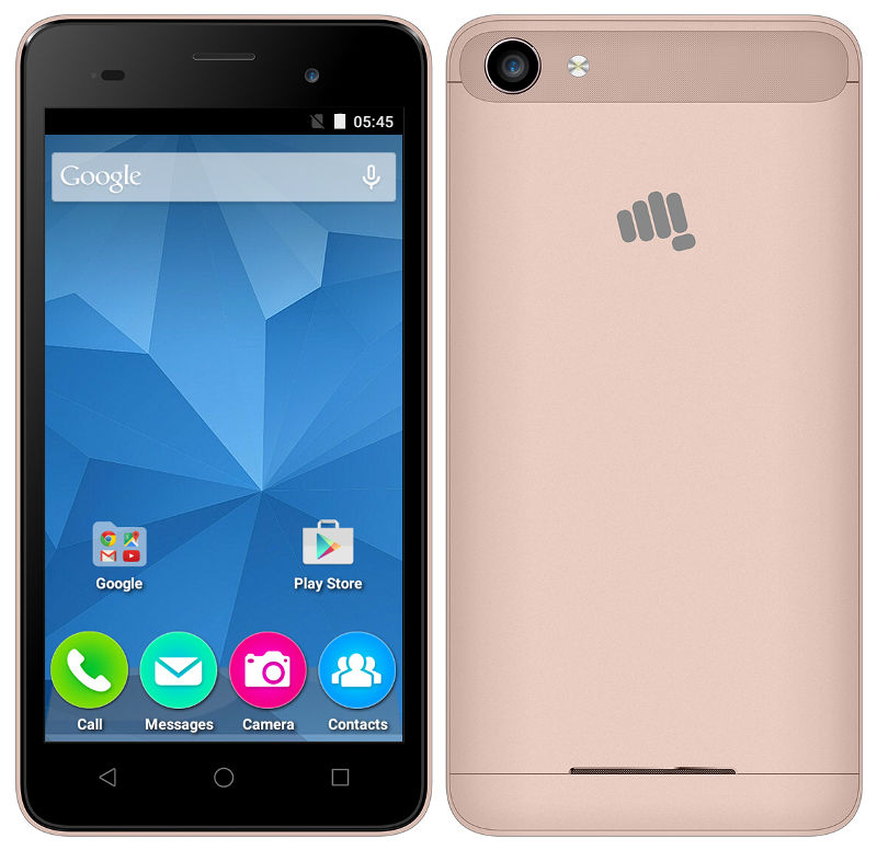 Micromax Canvas Spark 2 Plus With 5-inch Display, 1GB RAM
