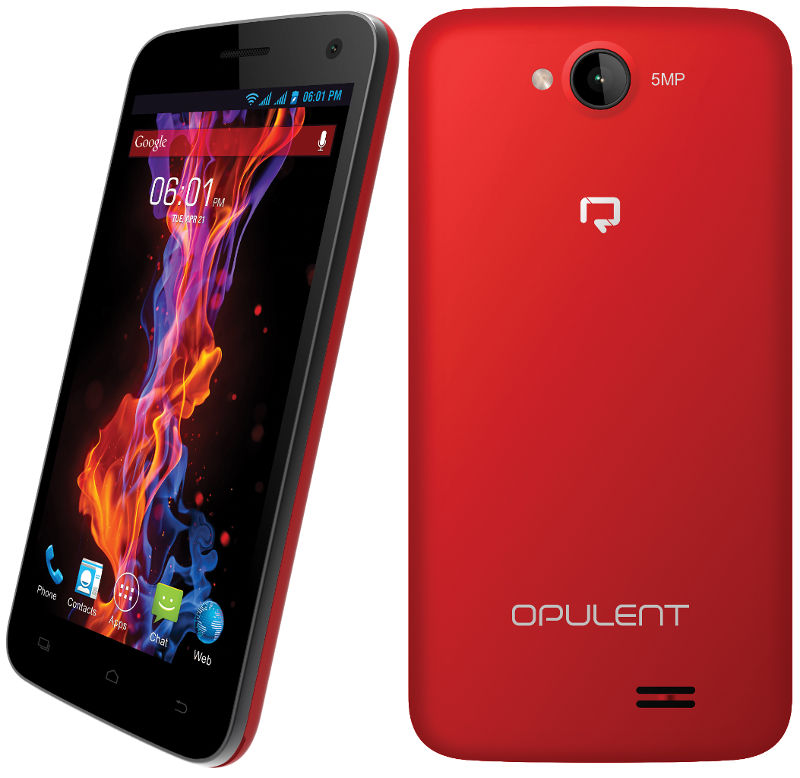 Reach Opulent Smart phones