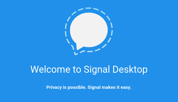 Signal Private Messenger Desktop Beta
