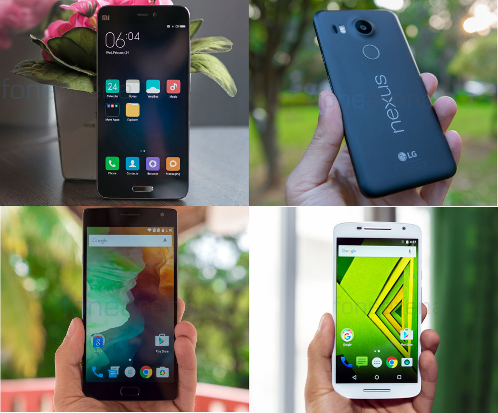 Top phones under Rs. 25000