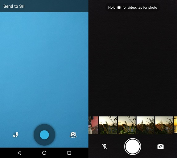 WhatsApp for Android gets built-in camera UI makeover