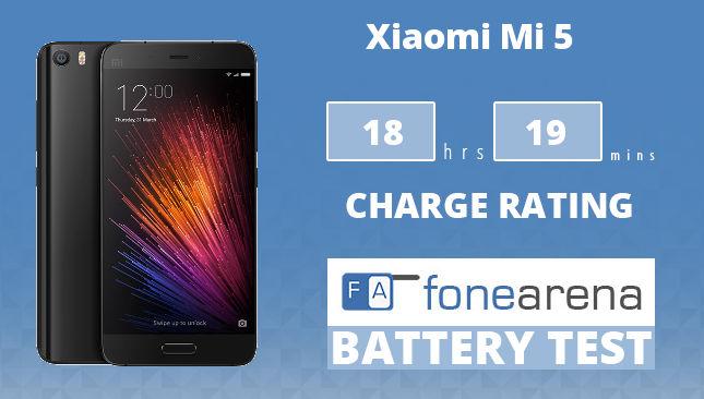 Xiaomi Mi 5 Battery Life Test