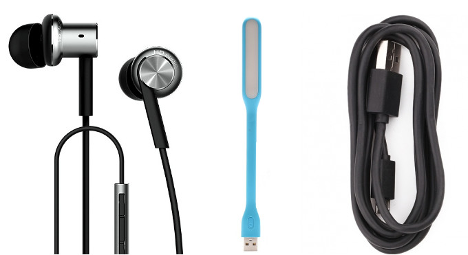 Xiaomi Mi In-Ear Headphones Pro, new Mi LED Light and Mi USB Cable launched in India
