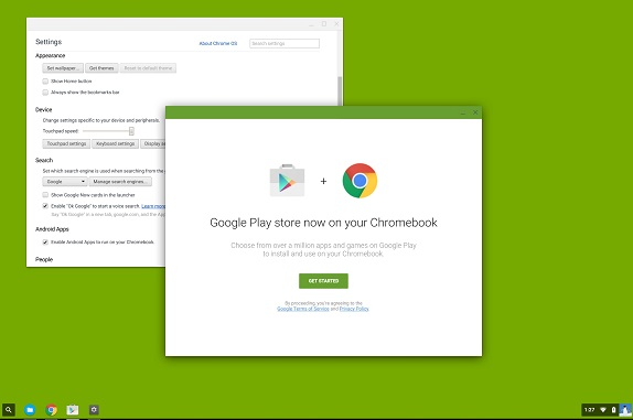 Google rolls out Play Store and Android Apps to four more Chromebooks
