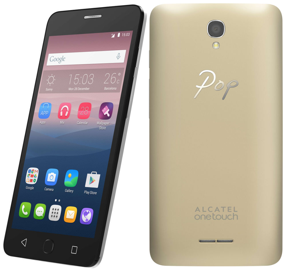 alcatel pop star with 5 inch hd display 4g lte launched. Black Bedroom Furniture Sets. Home Design Ideas