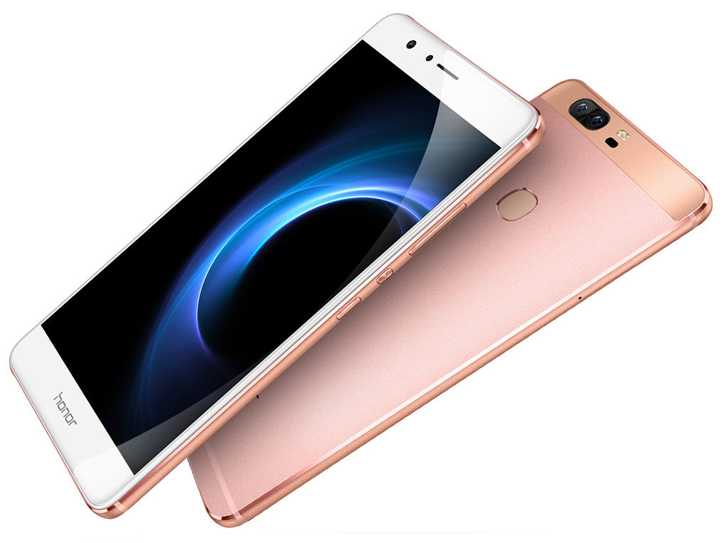 huawei honor v8 with 5 7 inch quad hd display 4gb ram