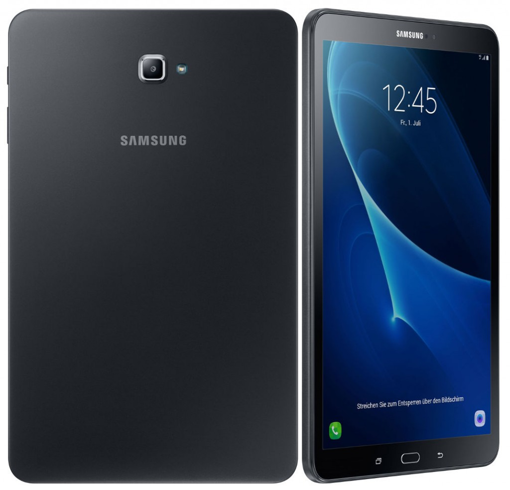 samsung galaxy tab a 10 1 2016 with 4g lte android 6 0 announced. Black Bedroom Furniture Sets. Home Design Ideas