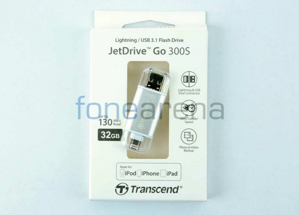 Transcend JetDrive Go 300S Review – Lightning / USB 3.1 Flash Drive
