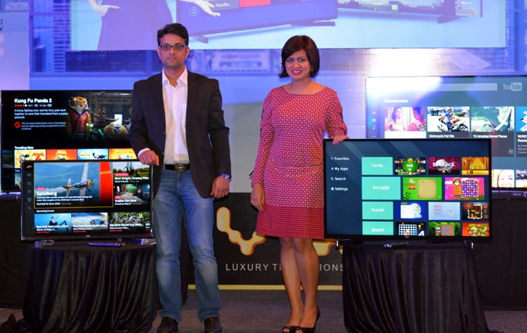 Vu smart LED TVs launch