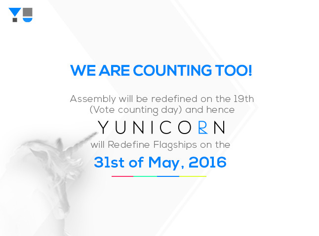 YU YUNICORN launch invite