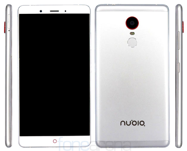 ZTE nubia Z11 Max with 6-inch 1080p display, 4000mAh ...