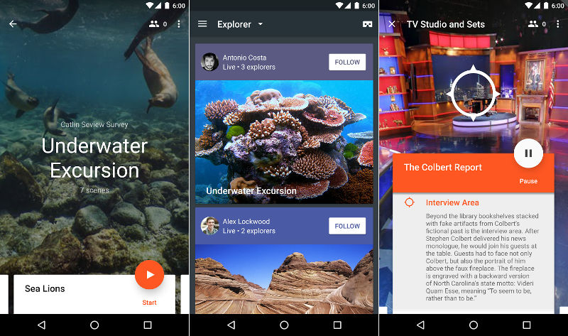 Google Expeditions for Android