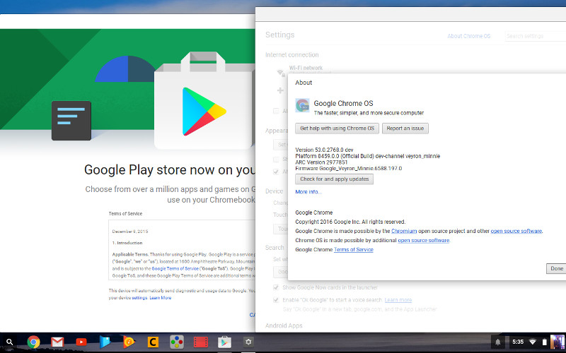 Android apps finally arrive on Chrome OS starting from ...