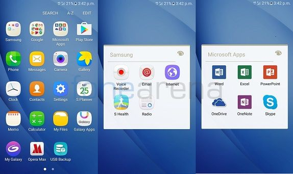 Samsung Galaxy J5 (2016) screens1