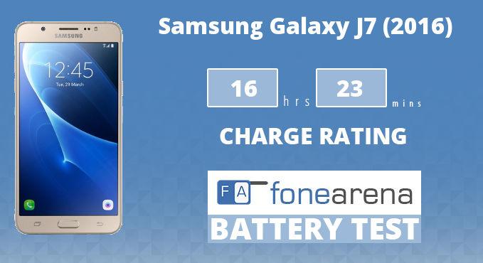 Samsung Galaxy J7 (2016) Battery Life Test