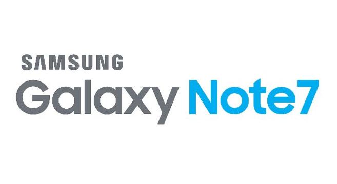 Samsung Galaxy Note7 branding