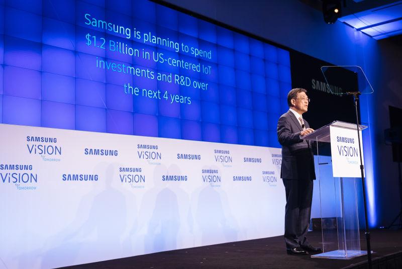 Samsung IoT investment