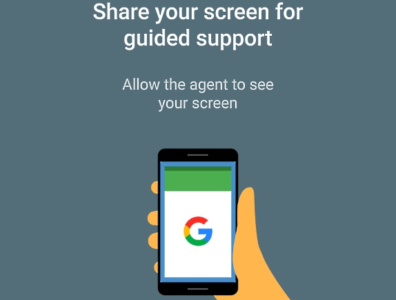 google-support-live-screen-share-android-police