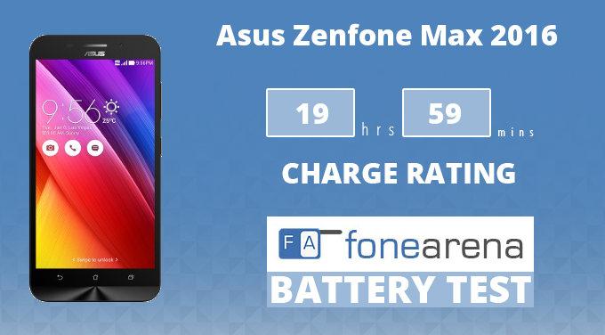 Asus Zenfone Max (2016) Battery Life Test