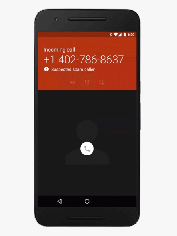 Google Spam callers