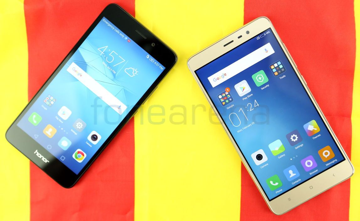 honor 5c vs redmi note 3 appears are driving