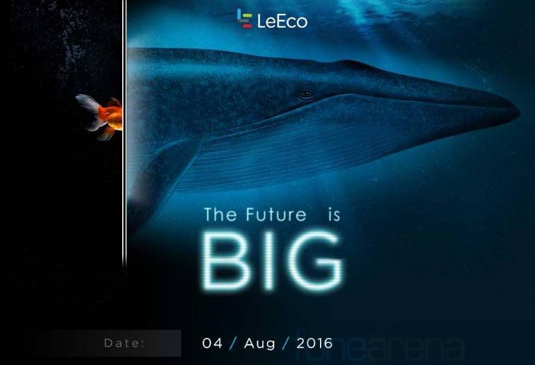 LeEco TV India launch invite