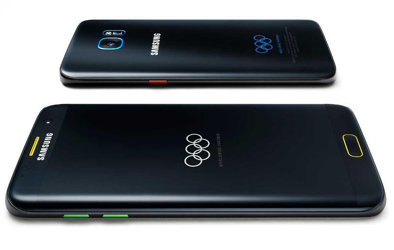 samsung galaxy s7 edge olympic games limited edition announced