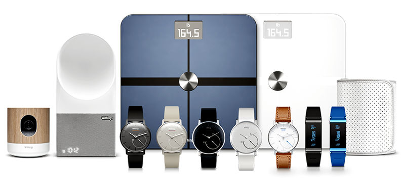 Withings Fintess products